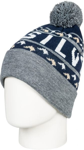 Quiksilver Summit Beanie Hdwr Btk0 Dress Blues