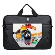 Port Designs torbica za prenosnik Polaris II 17,3 + mini optična miška Port Sauris 800dpi
