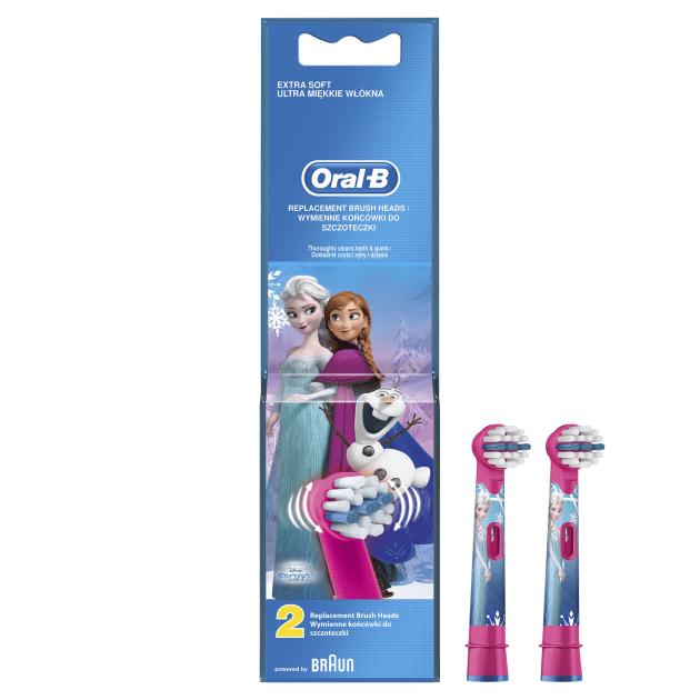 Oral-B Frozen 2 ks náhradní hlavice