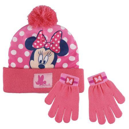 Disney dekliški zimski komplet Minnie, roza