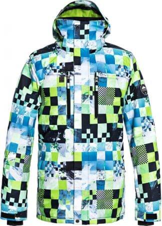 Quiksilver Mission Pr férfi téli kabát Jk M Snjt Gjz4 Lime Green_Money Time XL