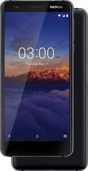 Nokia 3.1 2/16GB Dual SIM, Black Chrome