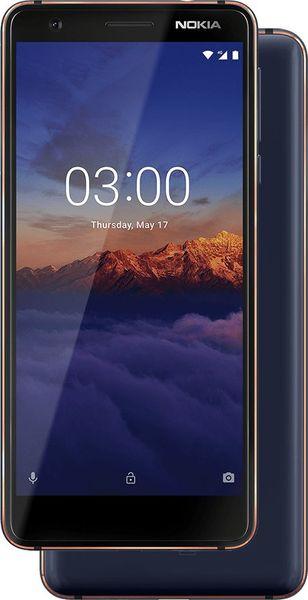 Nokia 3.1 2/16GB Dual SIM, Blue Copper