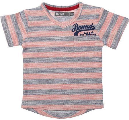Dirkje Chlapčenské tričko prúžkované Bound to WIN 86 cm - farebné