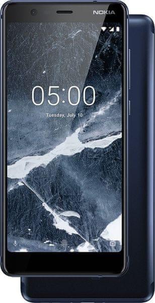 Nokia 5.1 2/16GB, Single SIM, Tempered Blue