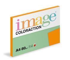Papír kopírovací Coloraction A4 80 g oranžová cihlová 100 listů