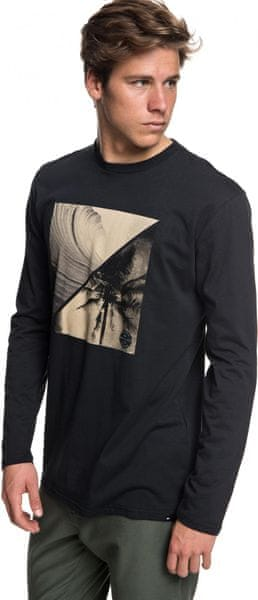 Quiksilver Colonghtls M Tees Kvj0 Black M