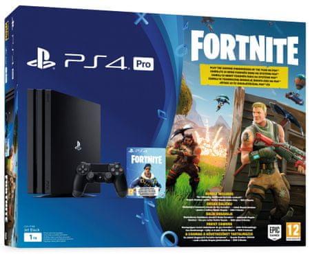 SONY Playstation 4 Pro - 1TB + Fortnite