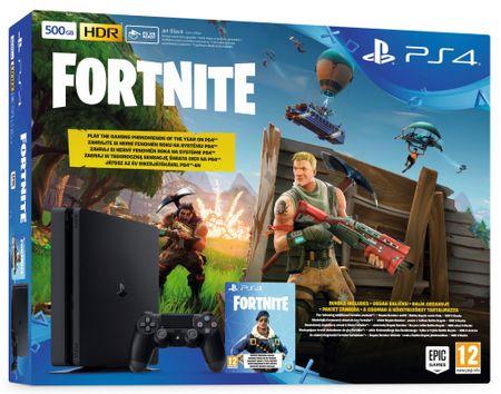 SONY Playstation 4 Slim - 500GB + Fortnite