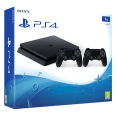 Sony Playstation 4 Slim - 1TB + DS4