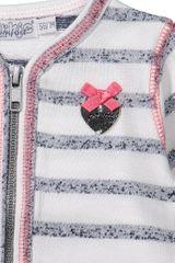 Dirkje Dívčí kabátek s proužky - barevné