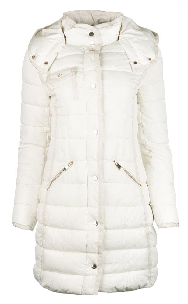 Desigual dámský kabát Inga 38 bílá