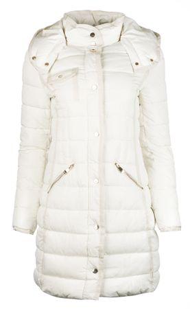 Desigual dámský kabát Inga 36 bílá  345f4e9986