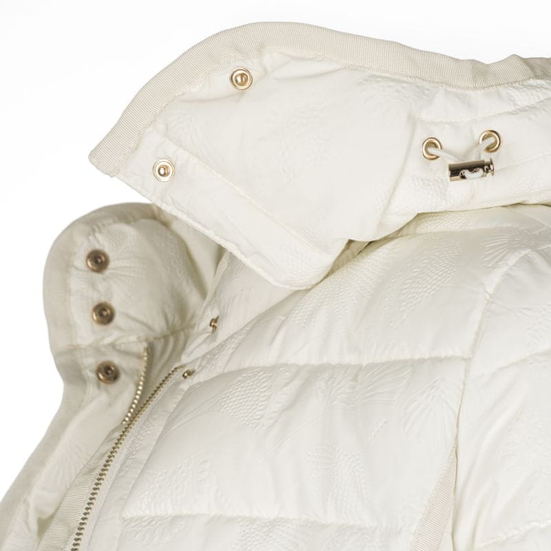 ... 3 - Desigual dámský kabát Inga 36 bílá ... 32532dd290