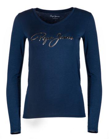 b9882f9eeae Pepe Jeans dámské tričko Mara S tmavě modrá