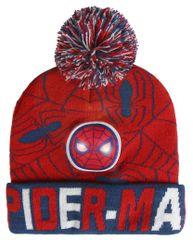 Disney chlapecká čepice Spiderman - červená