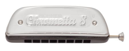 Hohner Chrometta 8 C Foukací harmonika