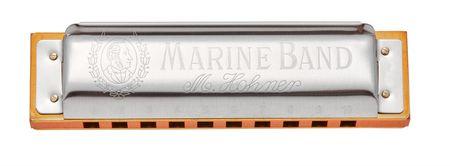 Hohner Marine Band 1896 B-harmonic minor Fúkacia harmonika