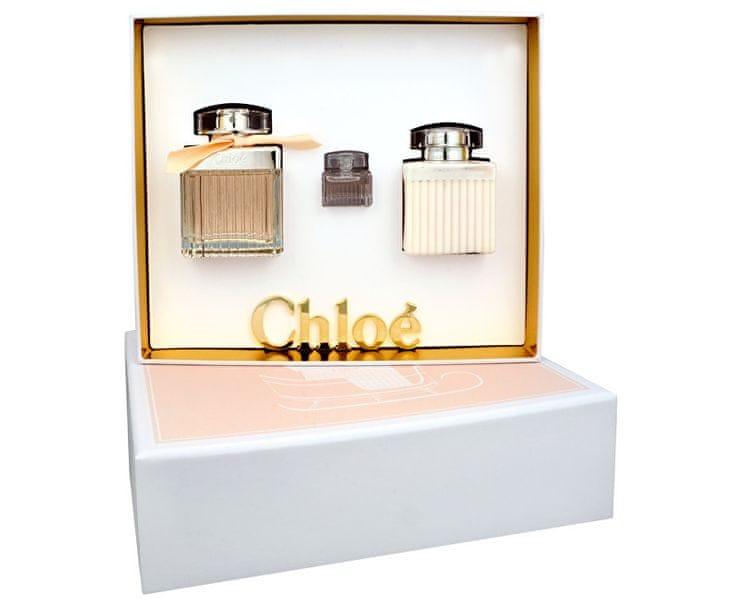 Chloé Fleur de Parfum EdP 75 ml + tělové mléko 100 ml + EdP 5 ml dárková sada