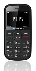 Blaupunkt telefon za starejše BS 02 2G, dual sim, črn