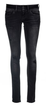 Pepe Jeans dámské jeansy Vera 25/32 čierna