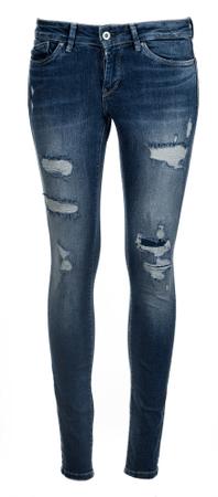 Pepe Jeans ženske kavbojke Pixie, modre, 25/30