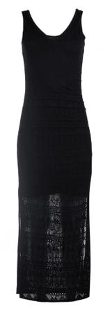 Timeout ženska obleka, črna, M
