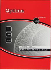 Optima etiketa Laser 25,4x10 mm