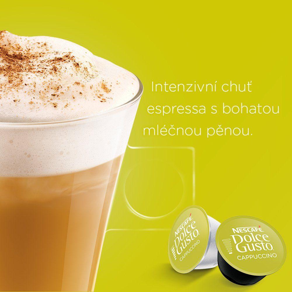 NESCAFÉ Dolce Gusto Cappuccino káva v kapslích
