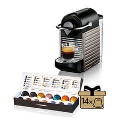 NESPRESSO Krups Pixie XN3005 Kávégép, Elektro/Titán