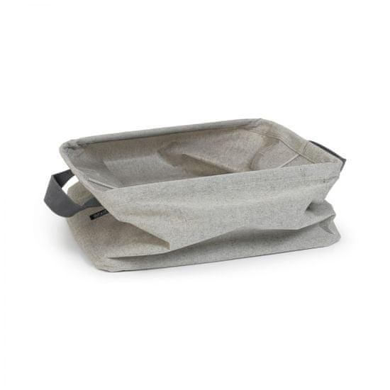 Brabantia zložljiv koš za perilo, 35 L, siv