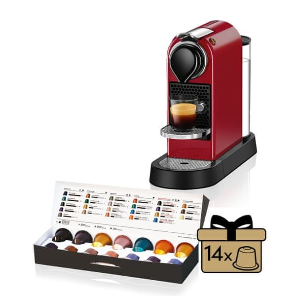 Nespresso KRUPS Citiz Red XN740510