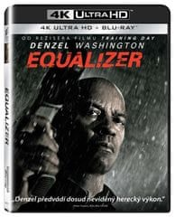 Equalizer (2 disky) - Blu-ray + 4K ULTRA HD