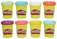Play-Doh Paket z modelnimi lončki, 8 kosov