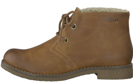 s.Oliver dámská kotníčková obuv 36 hnedá