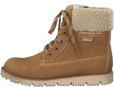 s.Oliver dámská kotníčková obuv 37 hnedá