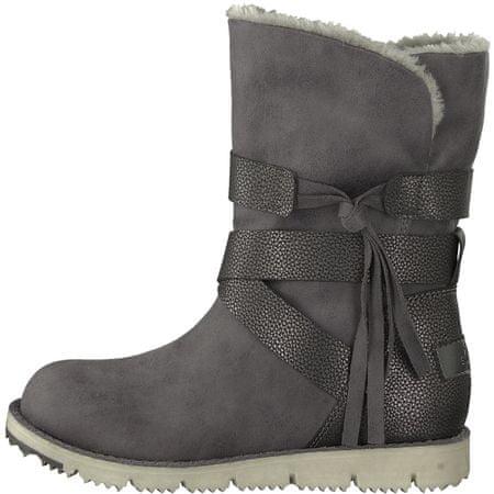 s.Oliver ženski škornji, 36, sivi