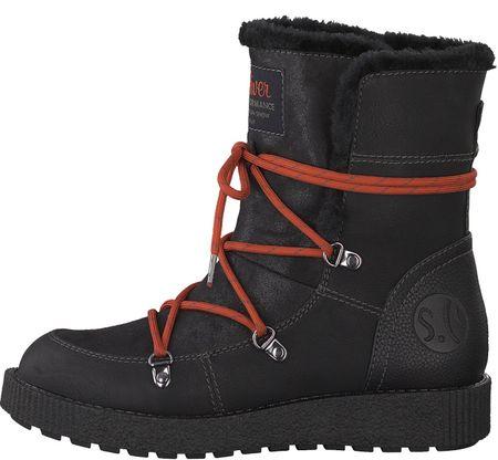 s.Oliver ženski škornji za sneg, 37, črni