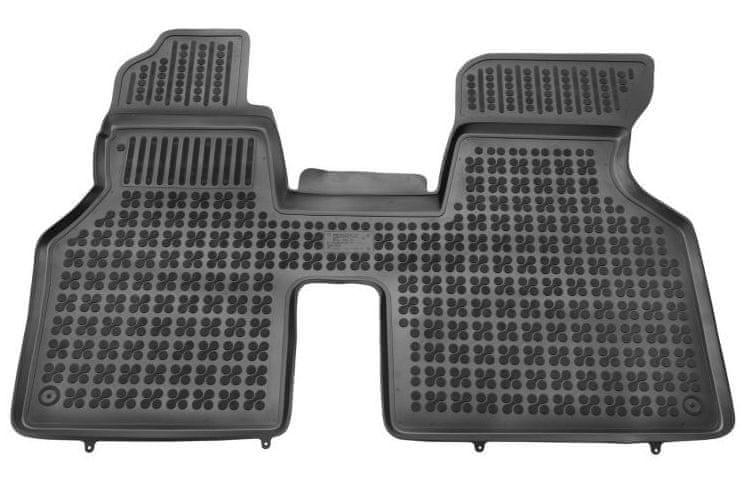 REZAW-PLAST Gumové koberce, 1 ks (1x spojený přední), VW Transporter T4 z let 1990 - 2003