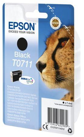 Epson kartuša T0711, črna (C13T07114012)