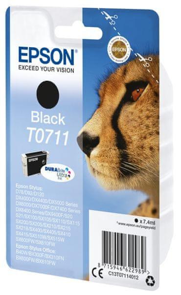 Epson T0711, černá (C13T07114012)