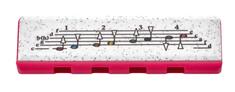 Hohner Speedy cherry/pink Foukací harmonika