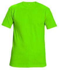 Cerva Tričko s krátkym rukávom Teesta fluorescent zelená S
