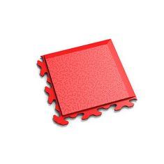 "Fortelock Červený vinylový rohový nájezd ""typ B"" Invisible 2037 - 14,5 x 14,5 x 0,67 cm"