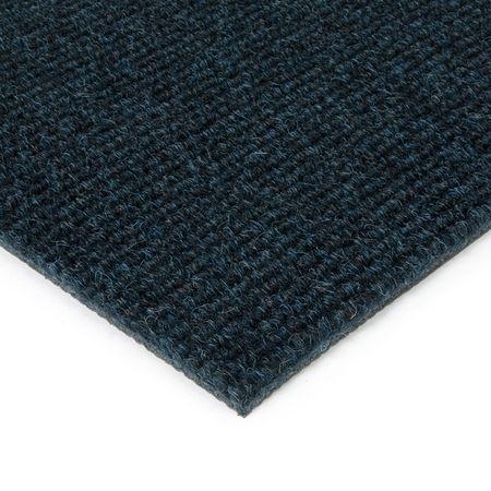 FLOMAT Modrá kobercová vnitřní čistící zóna Catrine - 50 x 200 x 1,35 cm