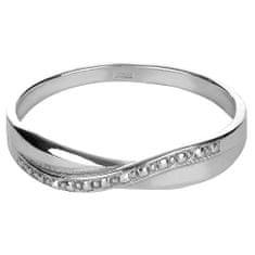 Brilio Silver Jemný stříbrný prsten 421 001 01656 04 - 1,13 g stříbro 925/1000
