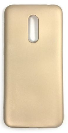 Jelly etui za Xiaomi Redmi 5 Plus, mat zlat