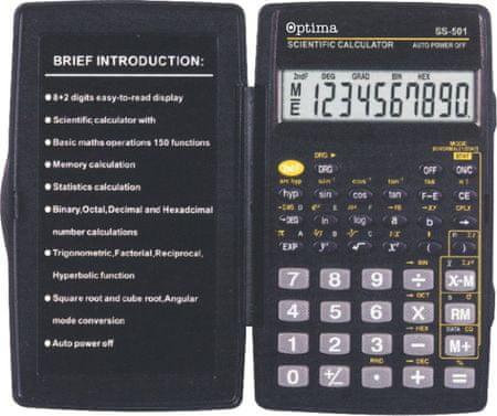 Optima kalkulator SS-501