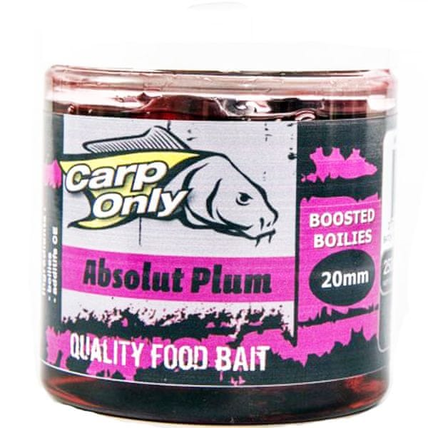 Carp Only Dipovaný Boilies 250ml 20mm red crustacean
