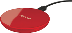 Trust Primo Wireless Charger for smartphones, 5W, červená 22818